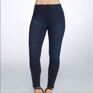 Spanx Crop Jean-ish Leggings Size Small Womens